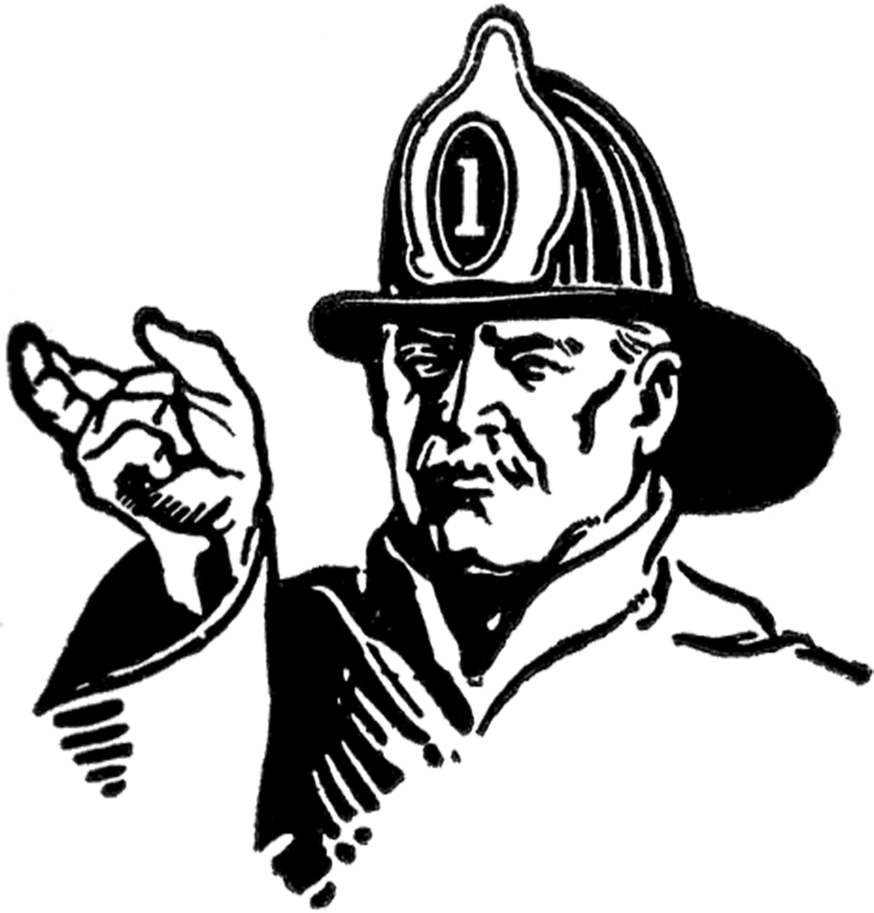 coloring fireman clipart black and white firefighter cartoon characters clipart panda free fireman and clipart white coloring black