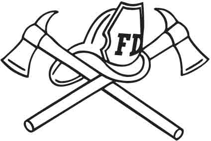 coloring fireman clipart black and white fireman coloring pages getcoloringpagescom clipart coloring and black fireman white