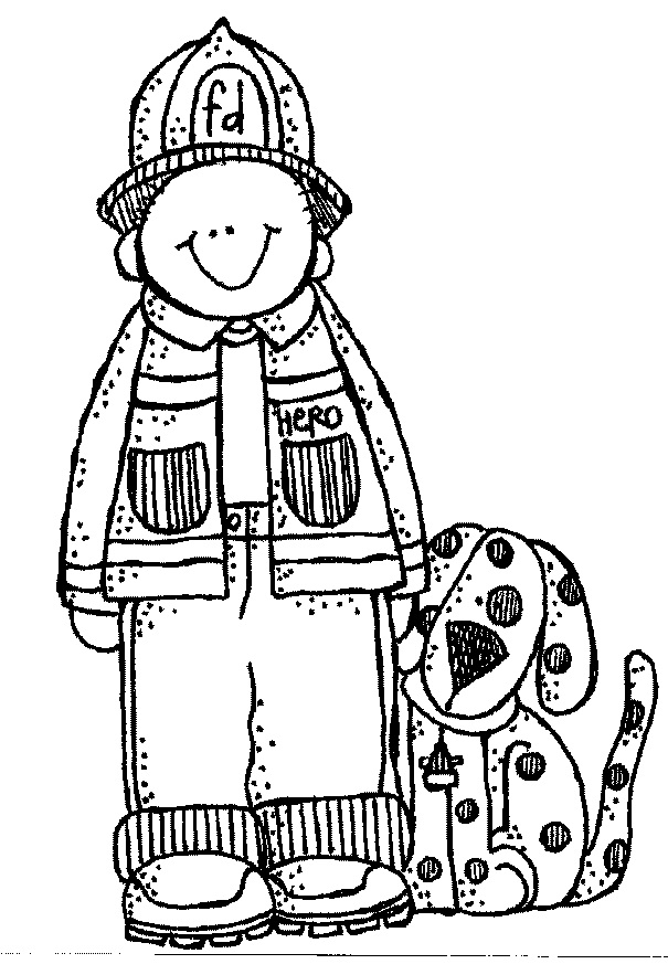 coloring fireman clipart black and white free printable fireman coloring pages cool2bkids white coloring clipart and black fireman