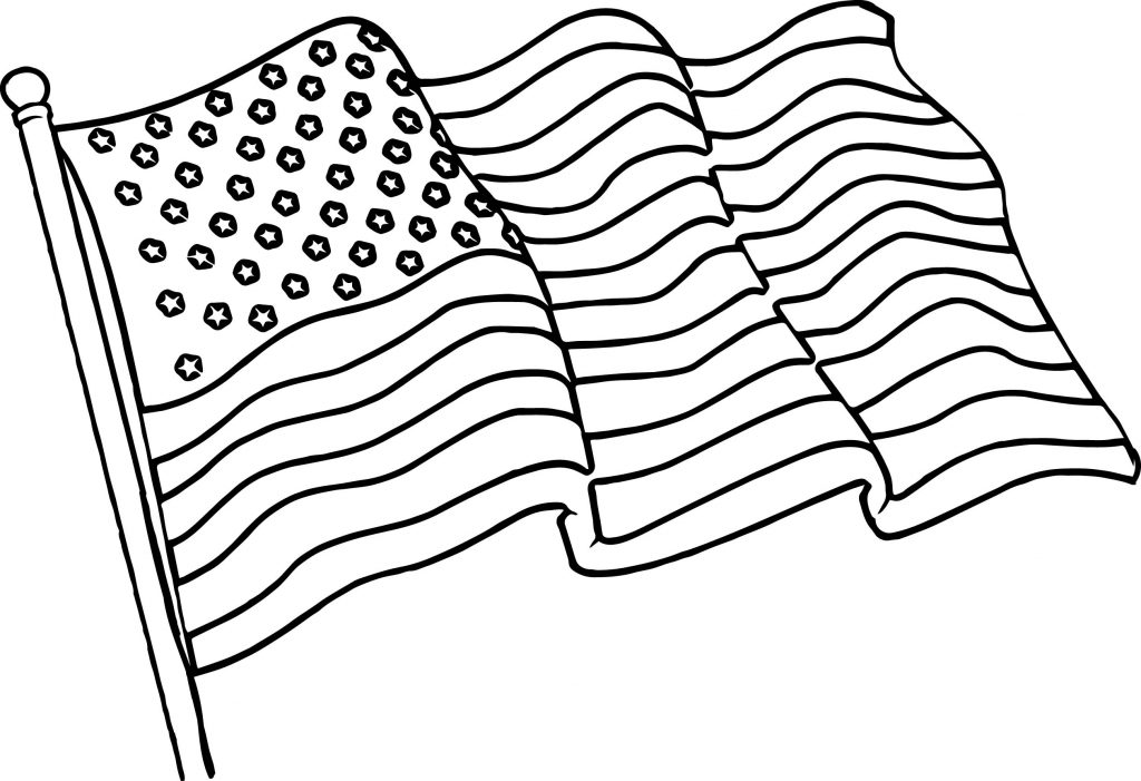 coloring flag american flag coloring page for the love of the country coloring flag
