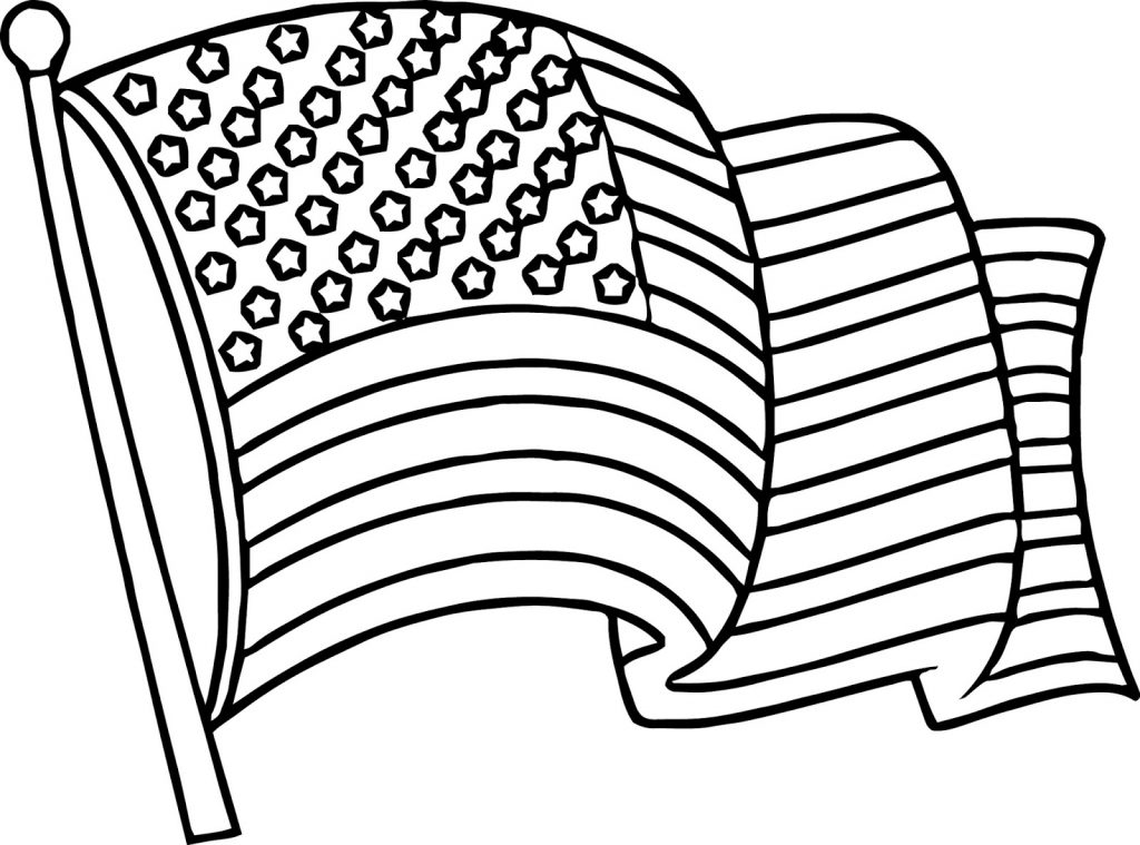 coloring flag american flag coloring page for the love of the country flag coloring