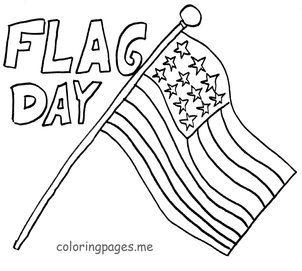 coloring flag american flag coloring page for the love of the country flag coloring 1 2