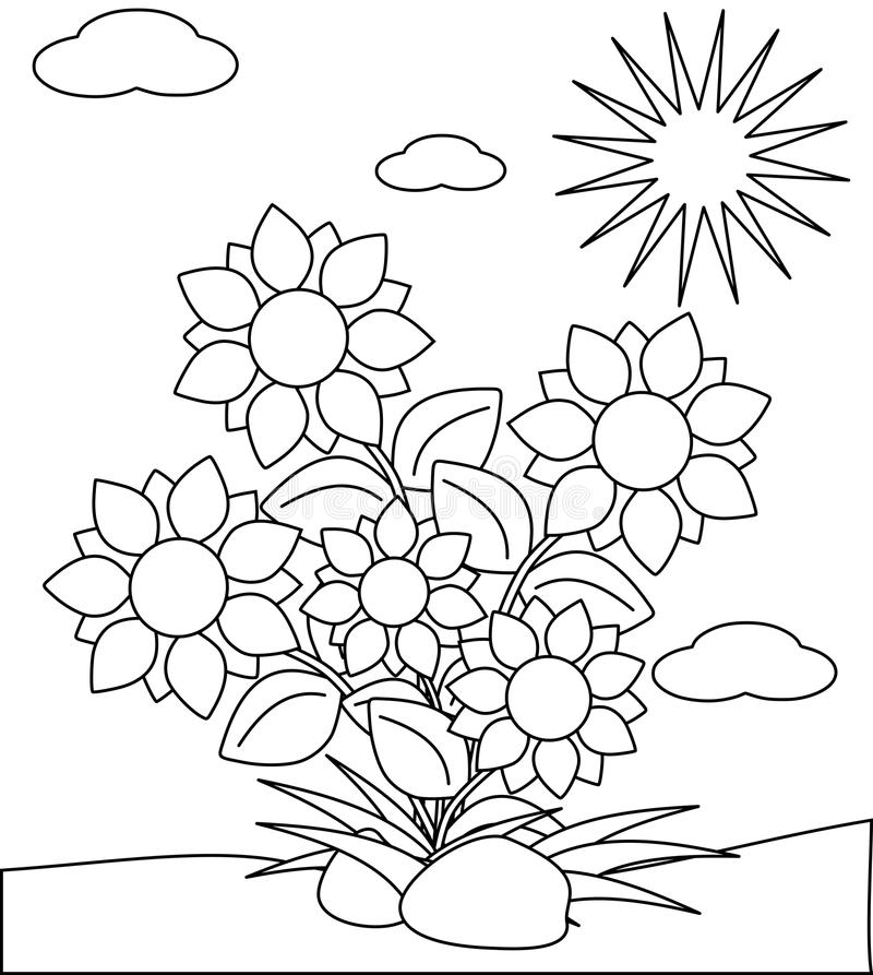 coloring flower cartoon images black and white cartoon flowers clipartsco coloring images flower cartoon