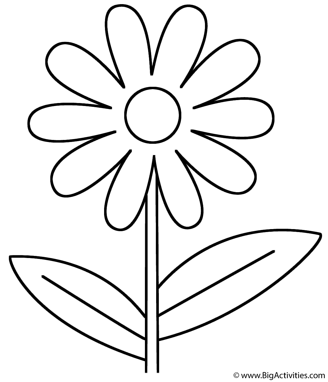 coloring flower cartoon images coloring pages flower cartoons gt simple shapes free images cartoon flower coloring
