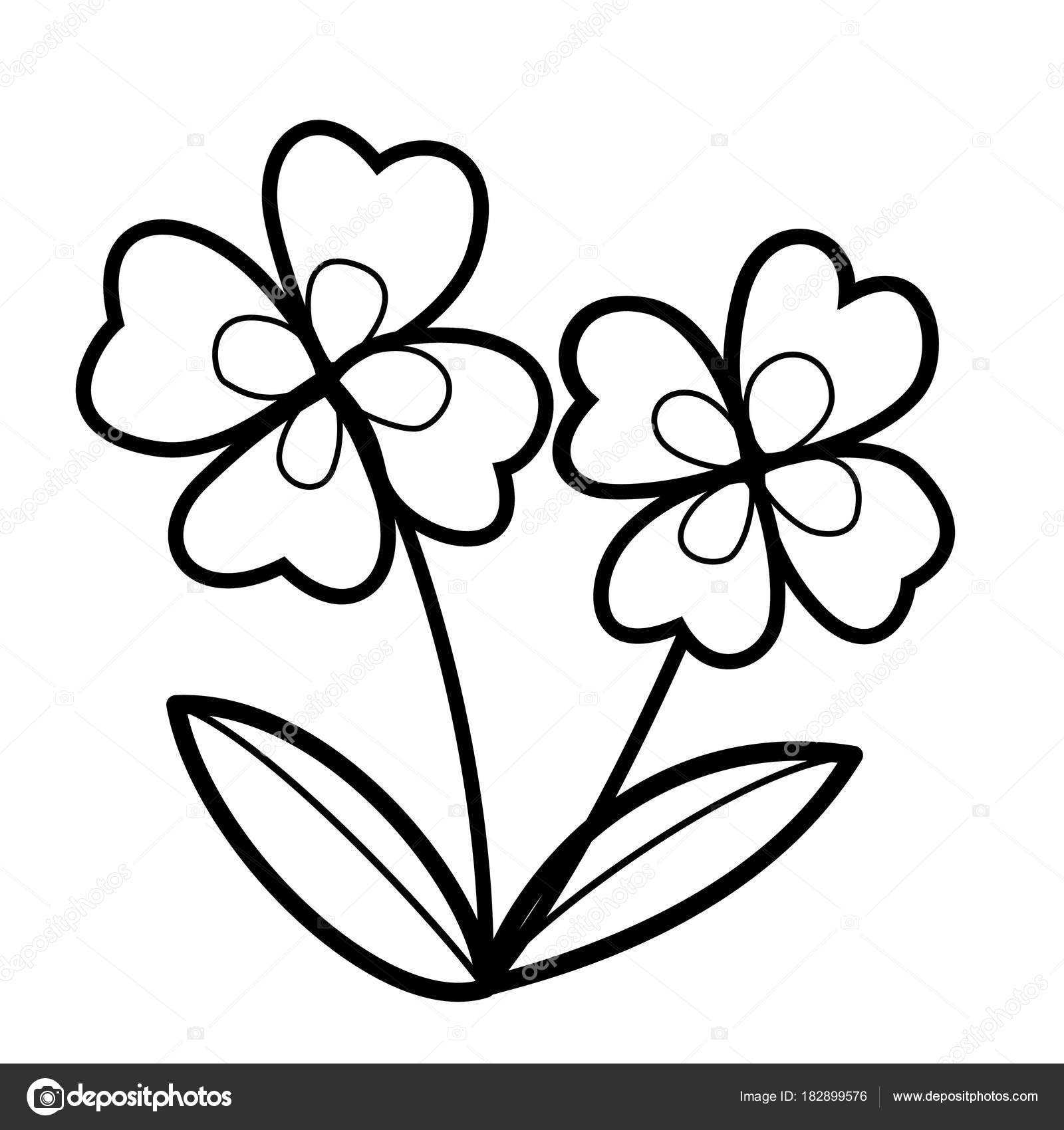 coloring flower cartoon images colouring pages cartoon flowers simple flower drawing coloring images flower cartoon