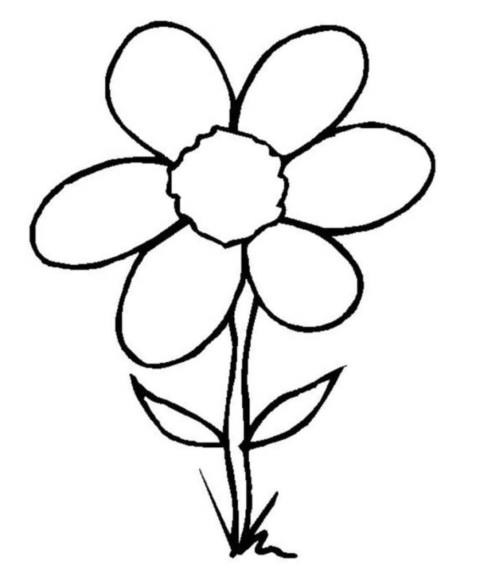 coloring flower cartoon images easy drawings of flowers free download on clipartmag cartoon flower images coloring