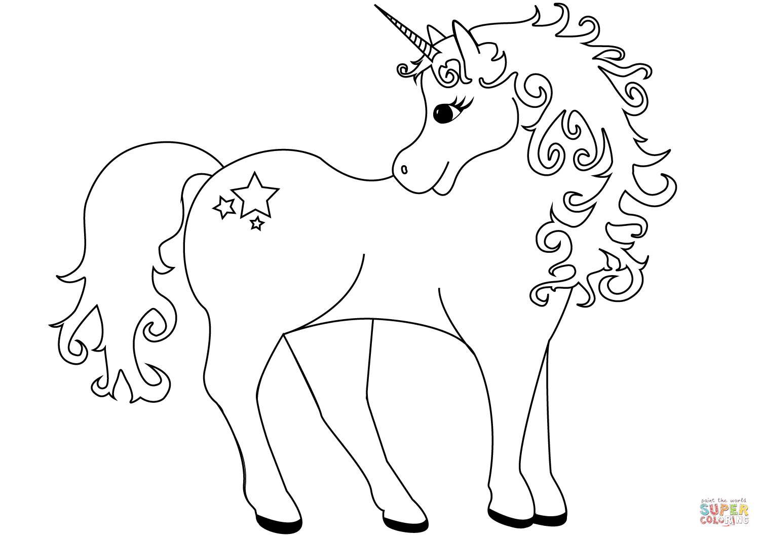 coloring for unicorn unicorn coloring pages printable learning printable for coloring unicorn