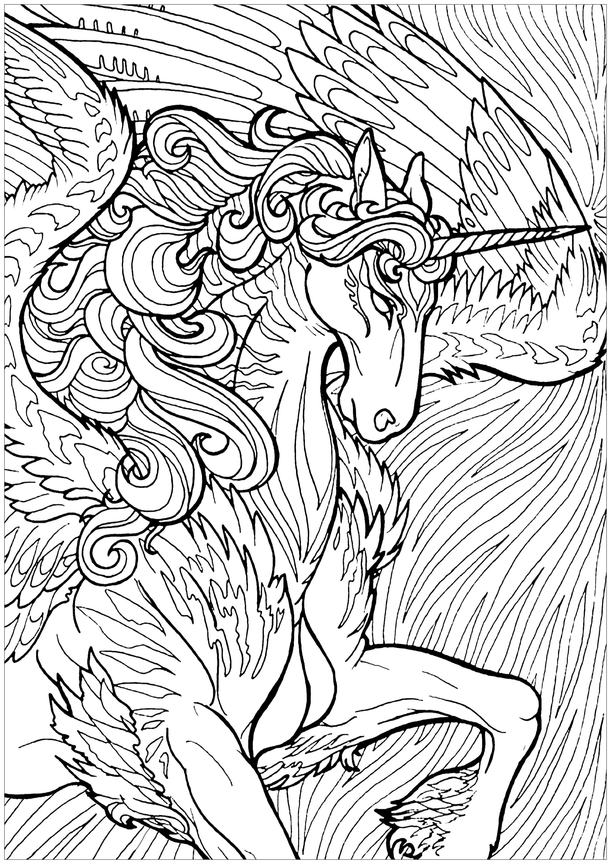 coloring for unicorn unicorn outline free download on clipartmag unicorn coloring for