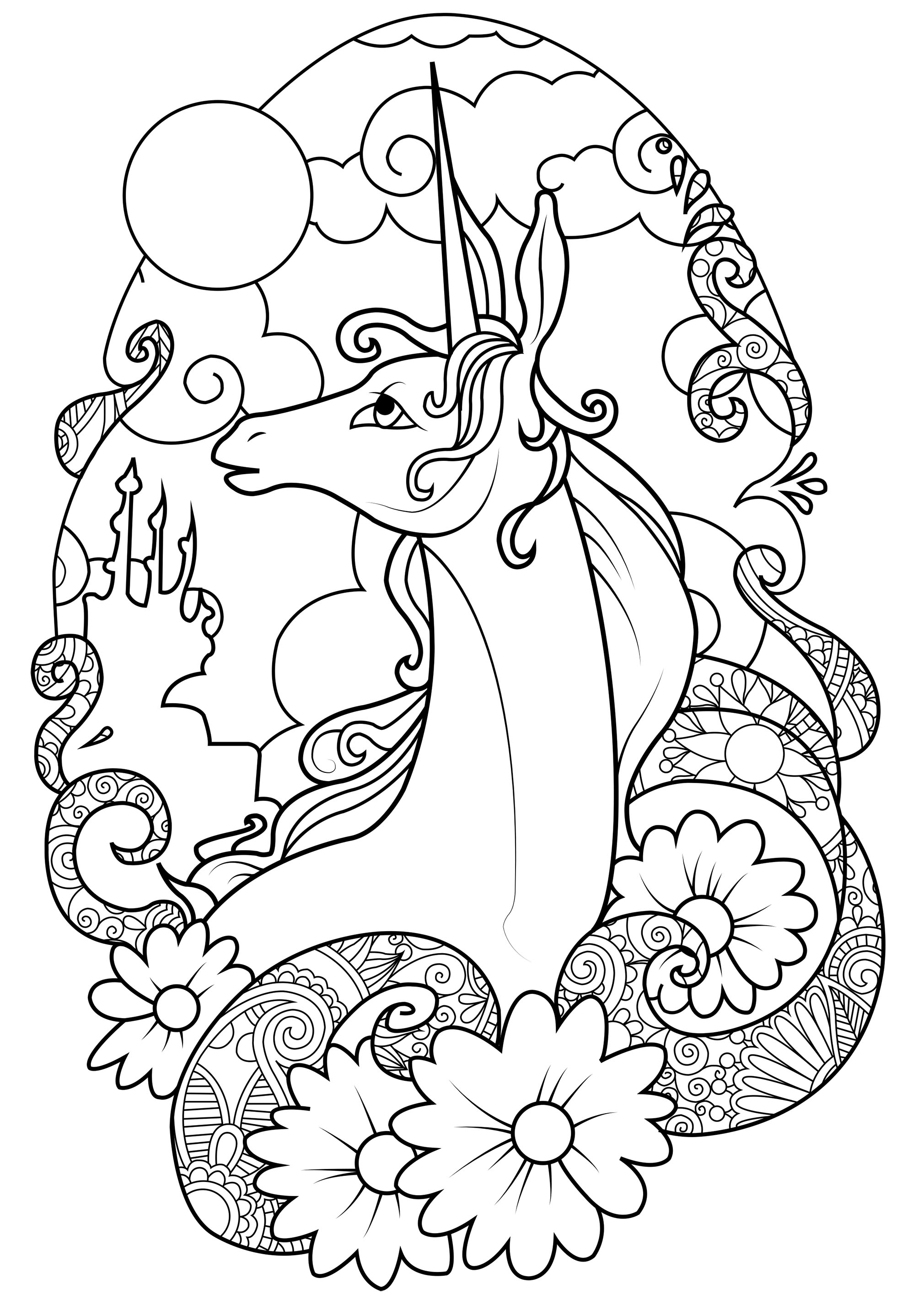 coloring for unicorn unicorns free to color for kids unicorns kids coloring pages coloring for unicorn