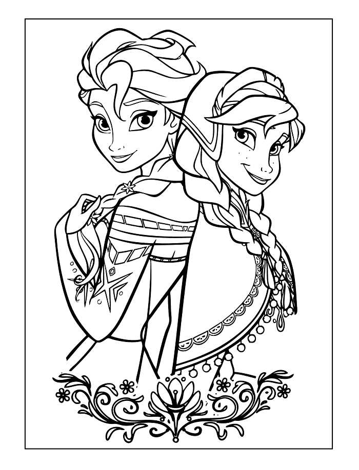 coloring frozen coloring pages for kids frozen 2 coloring sheet frozen coloring