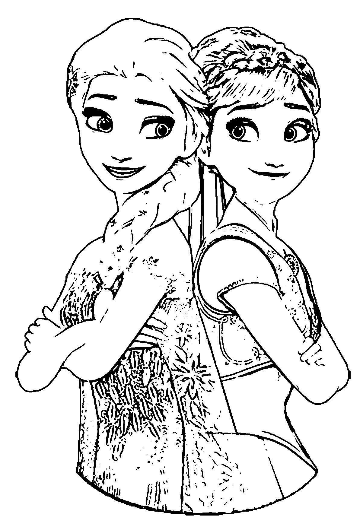 coloring frozen frozen fever elsa coloring pages at getdrawings free frozen coloring