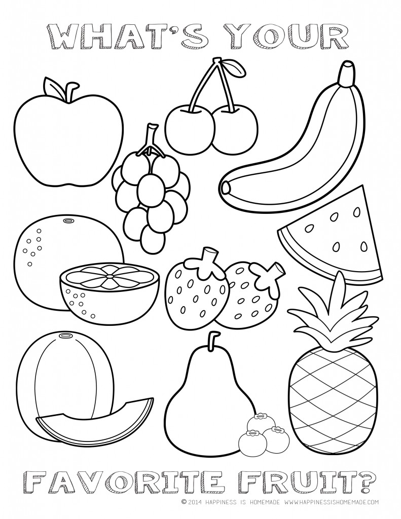 coloring fruits for nutrition month 209 best foodnutrition theme images on pinterest nutrition month for fruits coloring