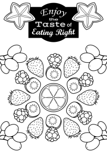 coloring fruits for nutrition month 5 fun fruit activities for families happy and blessed home coloring for nutrition month fruits