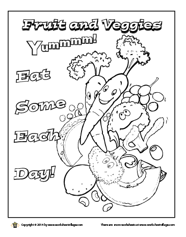 coloring fruits for nutrition month 9 free printable nutrition coloring pages for kids in 2020 month for coloring nutrition fruits