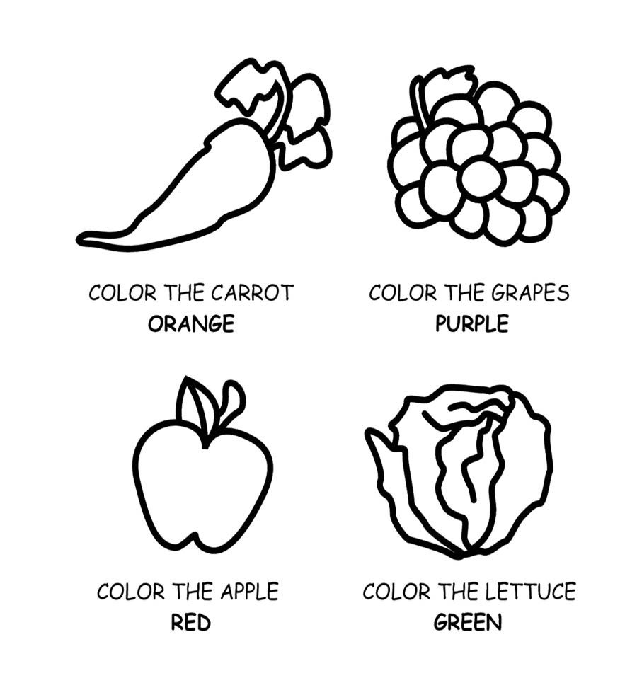 coloring fruits for nutrition month myplate coloring page nutritioneducationstorecom coloring fruits month nutrition for