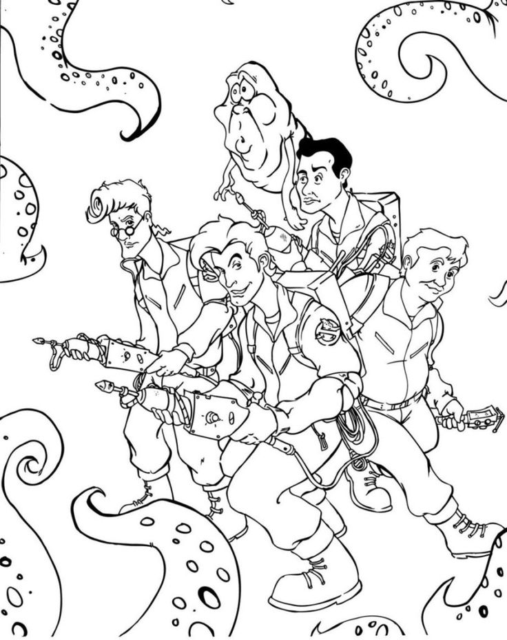 coloring ghostbusters free printable ghostbusters coloring pages for kids for ghostbusters coloring