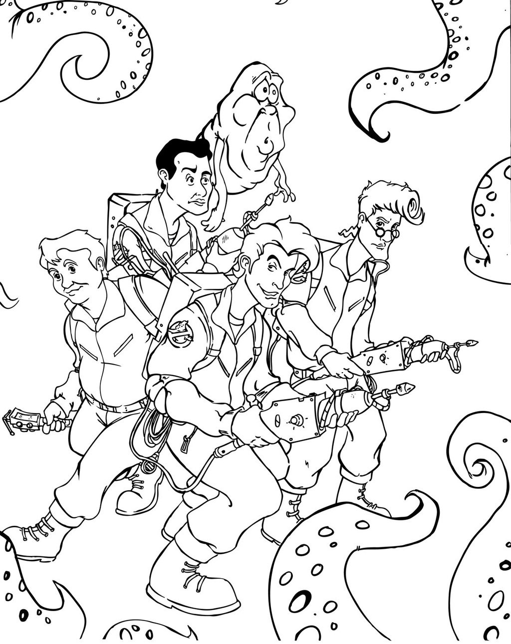 coloring ghostbusters printable ghostbusters coloring pages for kids cool2bkids ghostbusters coloring