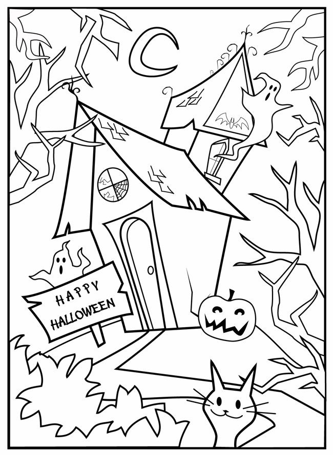 coloring halloween card color me card halloween drawing by sher sester card coloring halloween