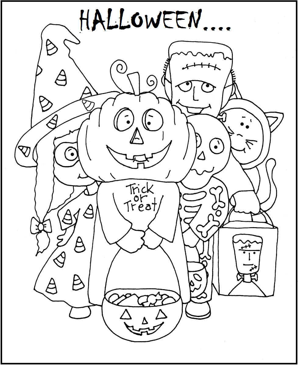 coloring halloween card cool happy halloween drawings halloween coloring sheets card halloween coloring