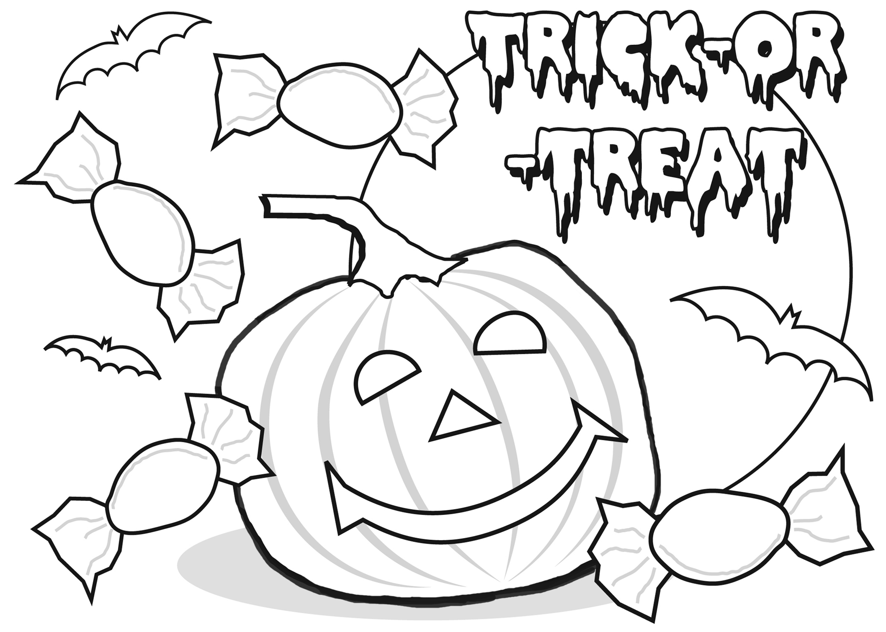 coloring halloween card free printable halloween cards create and print free coloring halloween card