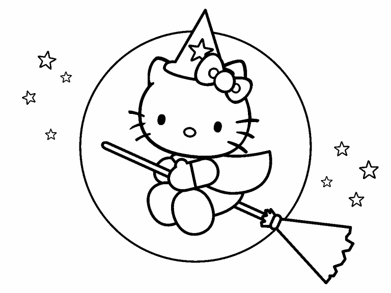 coloring halloween hello kitty coloring halloween hello kitty coloring halloween kitty hello