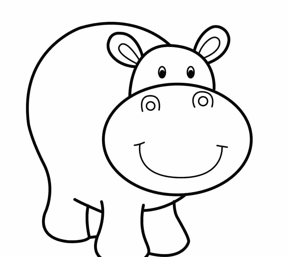 coloring hippo clipart free hippo coloring pages coloring hippo clipart