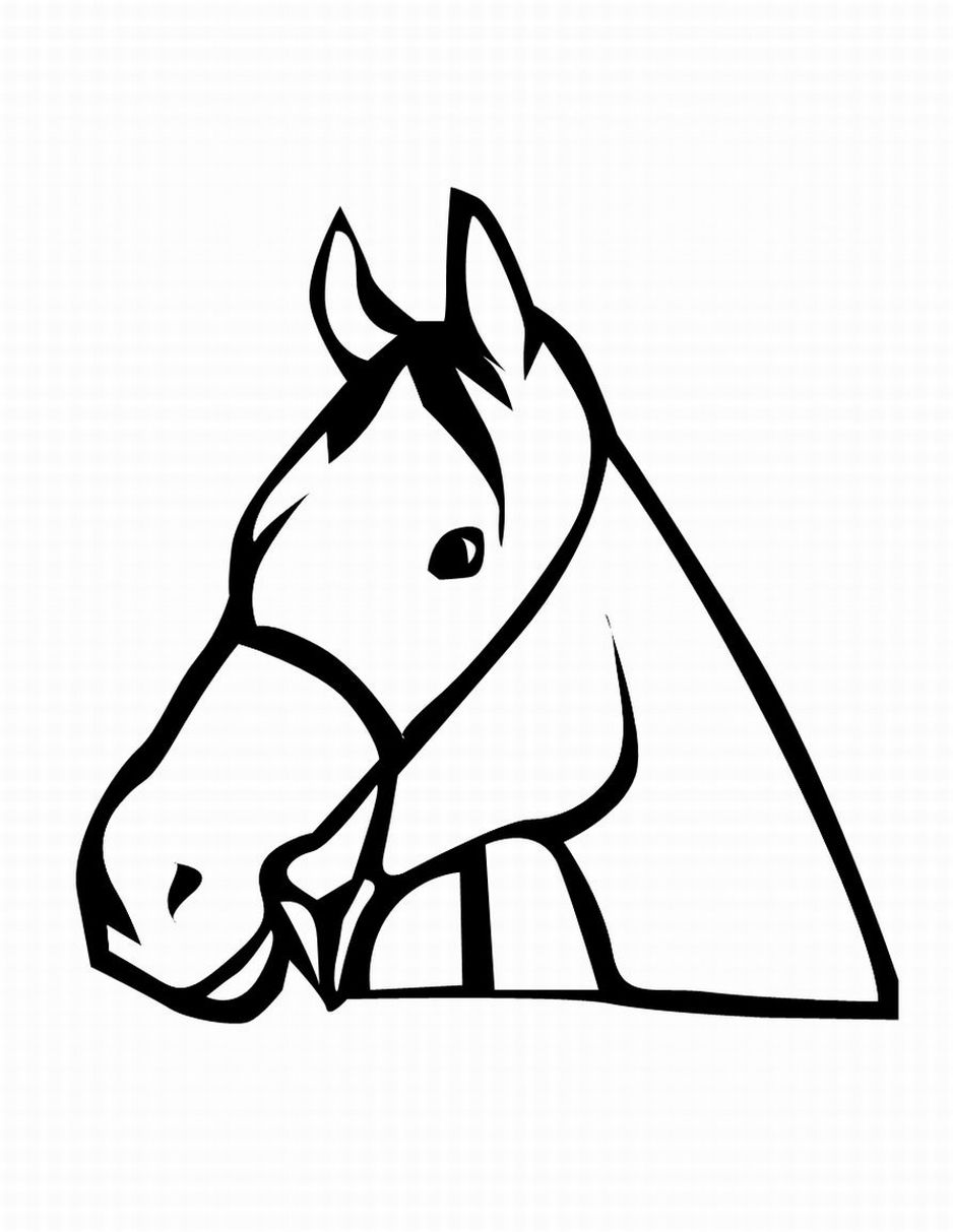 coloring horse clipart free free printable realistic horse coloring pages coloring clipart horse