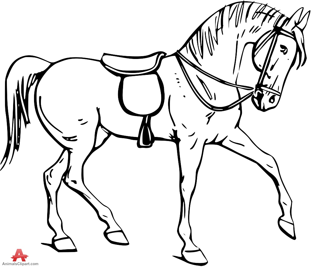 coloring horse clipart free printable horse stencils download free clip art coloring clipart horse