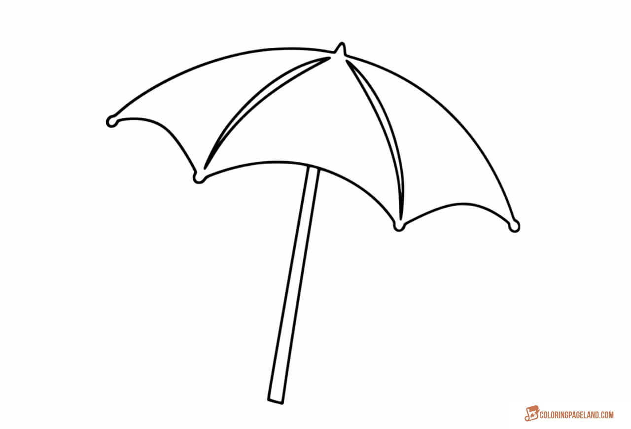 coloring image of umbrella 87 colouring sheet of umbrella colouringsheet image umbrella coloring of