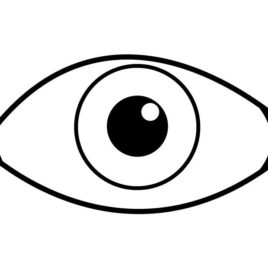coloring images of eyes eye coloring page free download on clipartmag coloring images of eyes