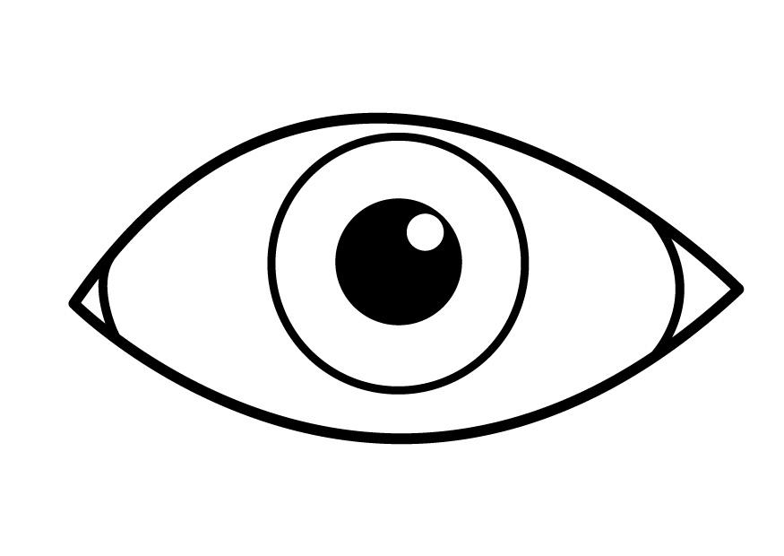coloring images of eyes eye coloring page free download on clipartmag eyes images of coloring 1 1