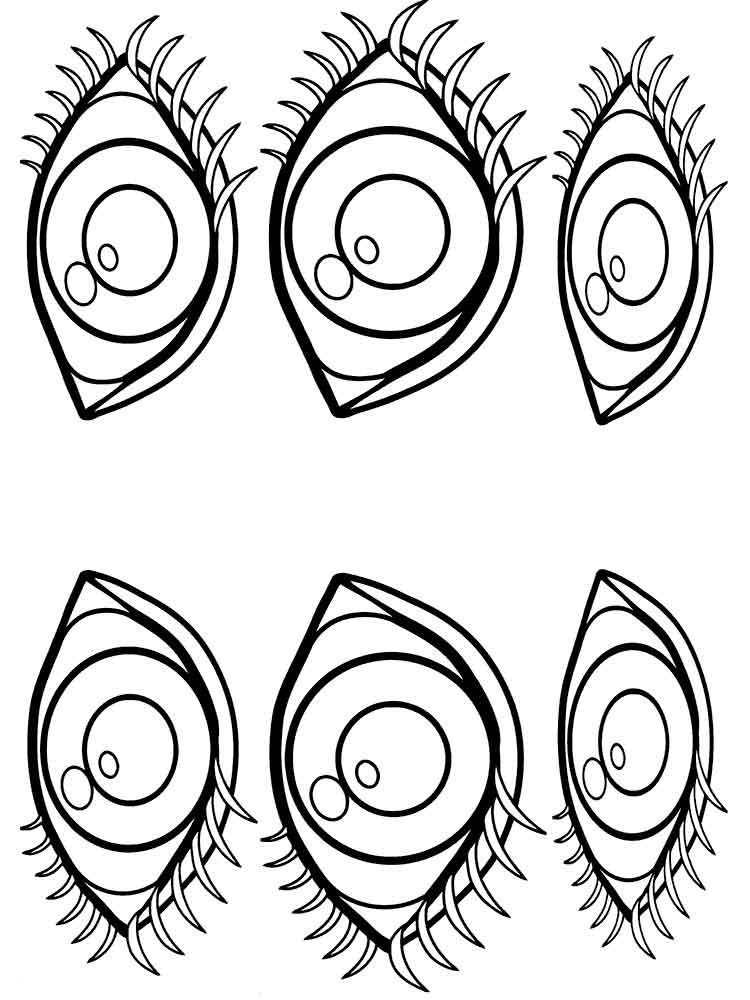 coloring images of eyes eye coloring page free download on clipartmag images of eyes coloring 1 1