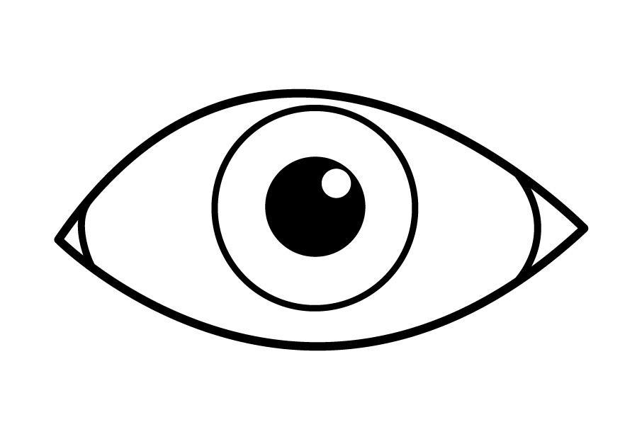 coloring images of eyes eye coloring pages for kids coloring home eyes coloring of images