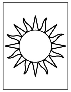 coloring images of sun ornamental sun coloring page stock illustration download images of sun coloring