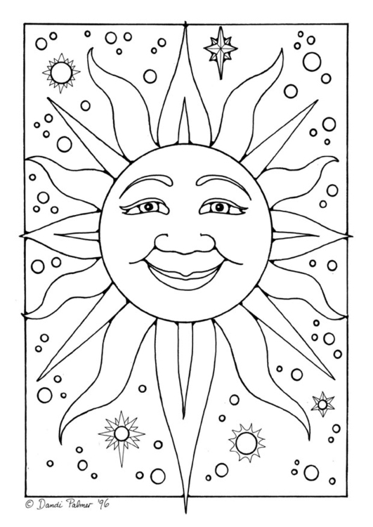coloring images of sun printable solar system coloring pages for kids cool2bkids of sun coloring images