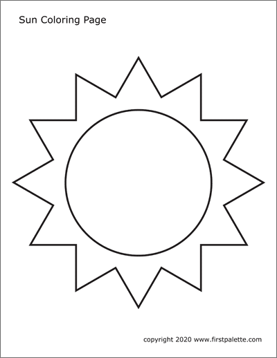 coloring images of sun smiling sun with glasses coloring page images coloring sun of