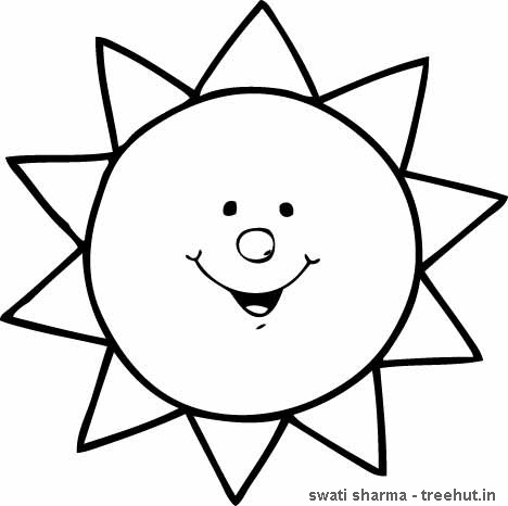 coloring images of sun sun clipart drawing at getdrawings free download images coloring sun of