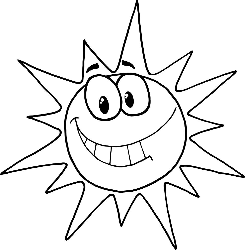coloring images of sun sun coloring pages for kids at getcoloringscom free of coloring sun images