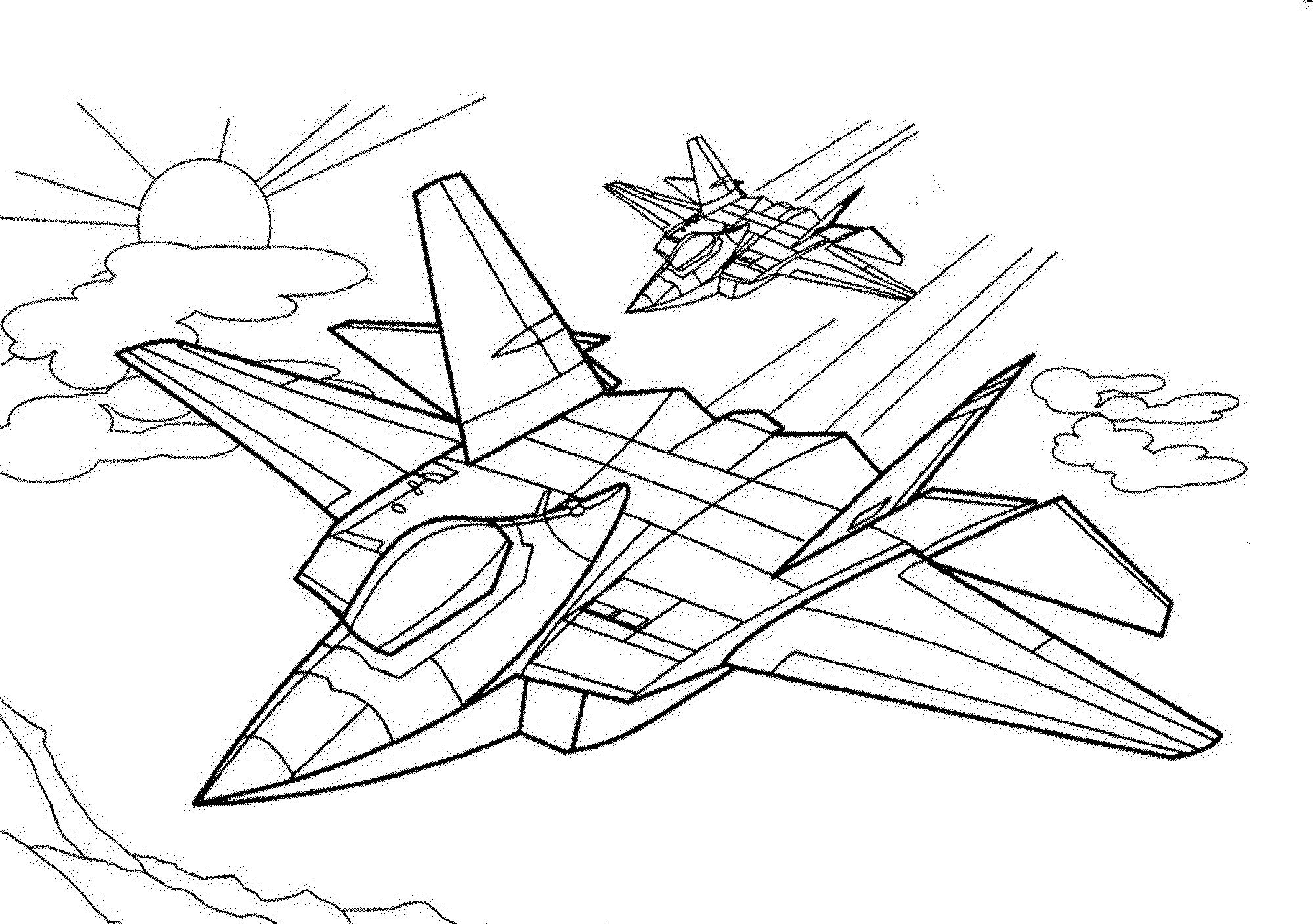 coloring jet airplane coloring pages getcoloringpagescom jet coloring
