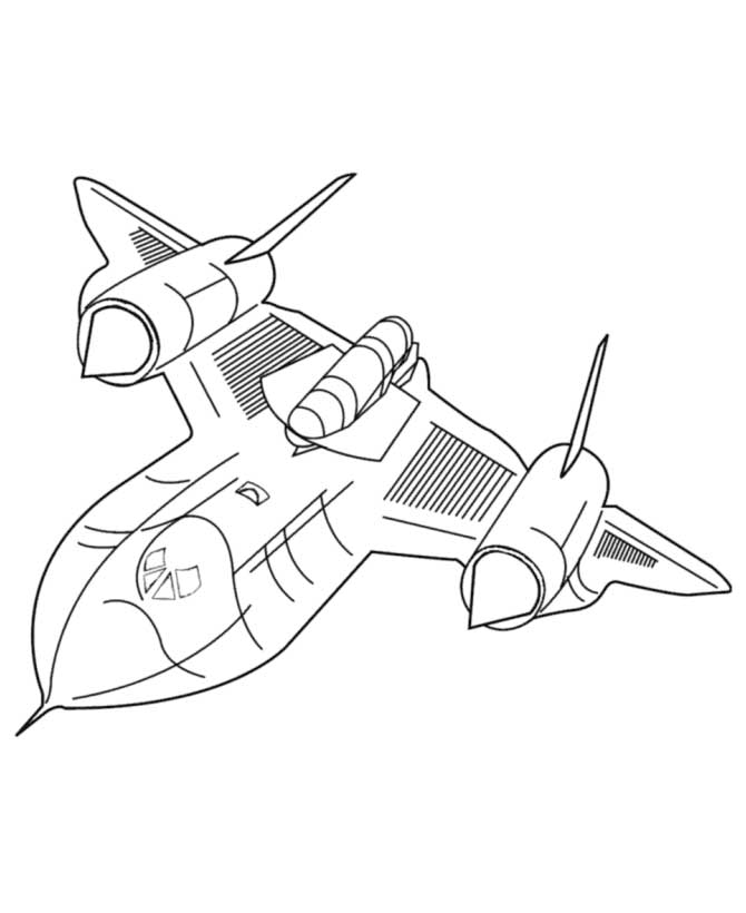 coloring jet airplane coloring pages to print for free coloring jet