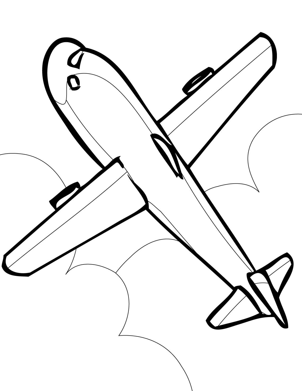 coloring jet jumbo jet drawing at getdrawings free download jet coloring
