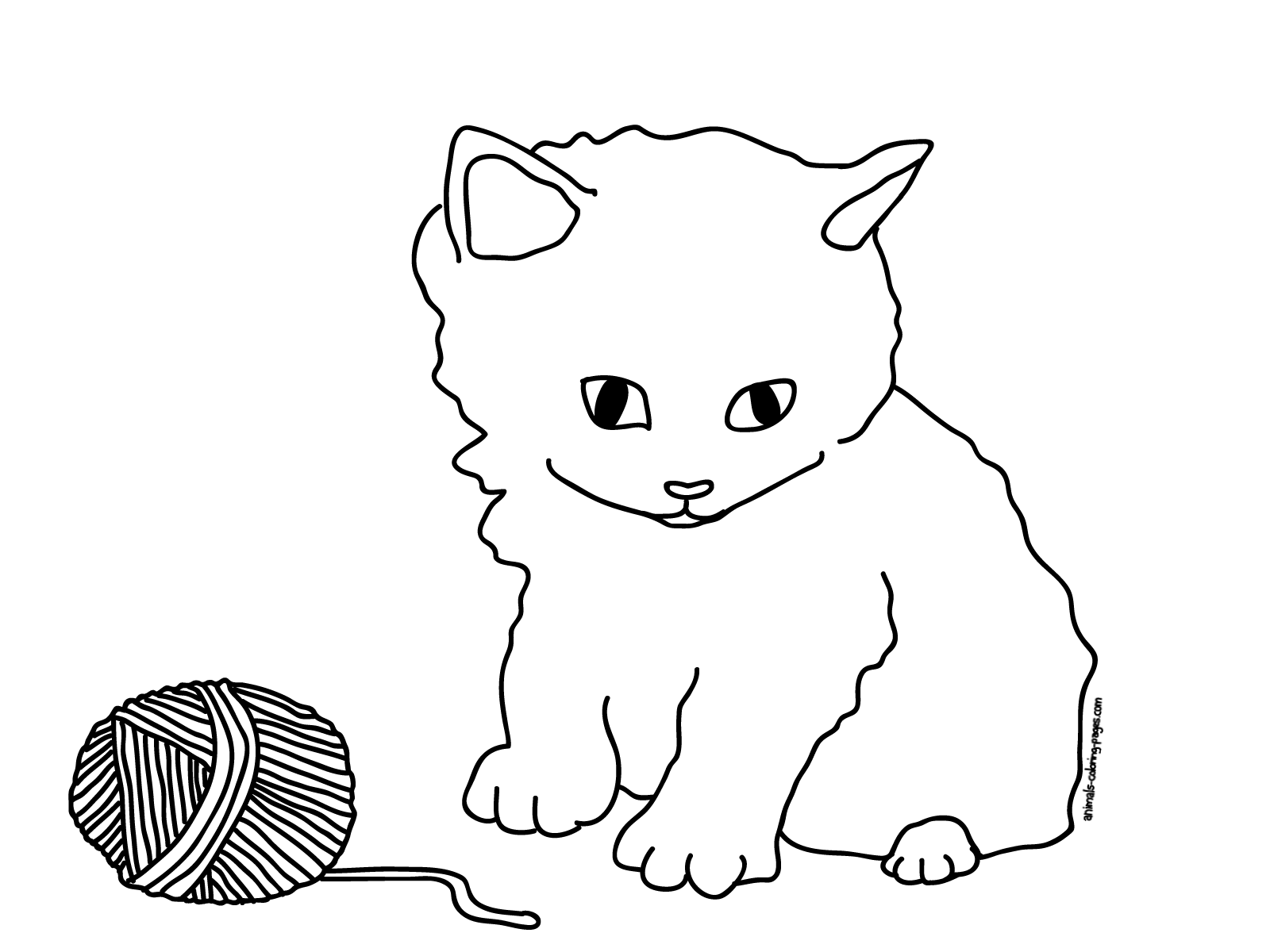 coloring kitty cat baby kitten coloring pages timeless miraclecom cat coloring kitty