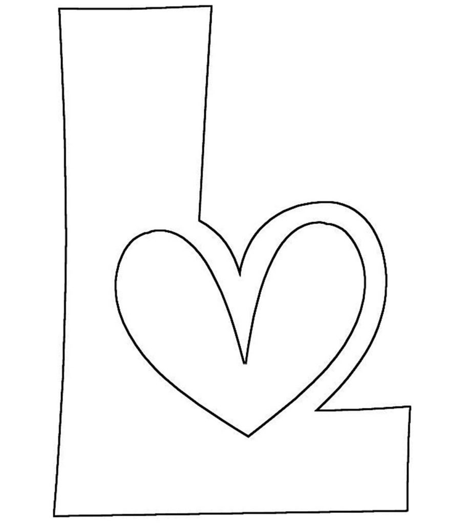 coloring letter l letter l coloring pages to download and print for free coloring l letter