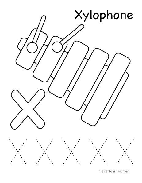 coloring letter x worksheets letter x alphabet coloring pages 3 printable versions coloring worksheets x letter