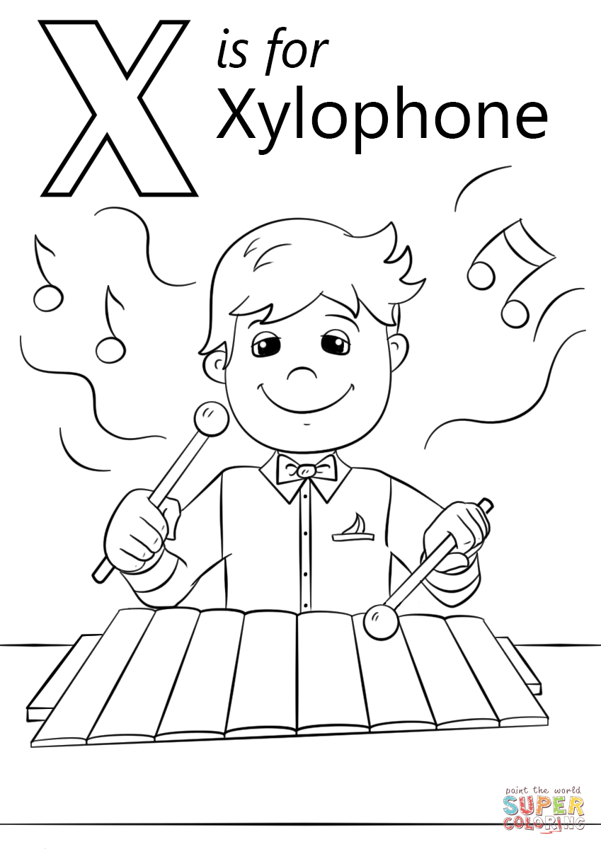 coloring letter x worksheets letter x coloring pages to download and print for free worksheets x coloring letter