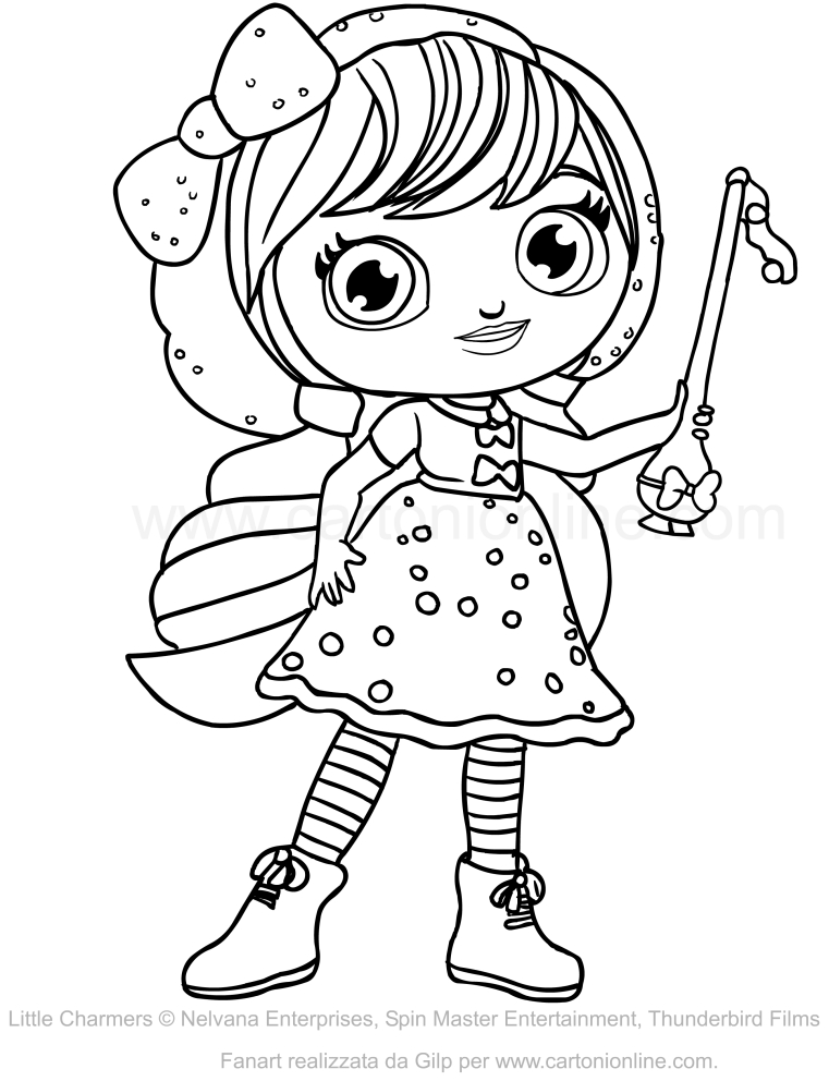 coloring little charmers little charmers all characters coloring pages youtube coloring little charmers