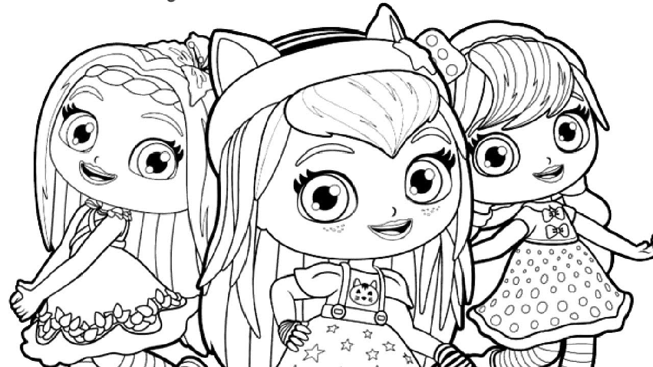 coloring little charmers little charmers coloring pages at getdrawings free download charmers little coloring