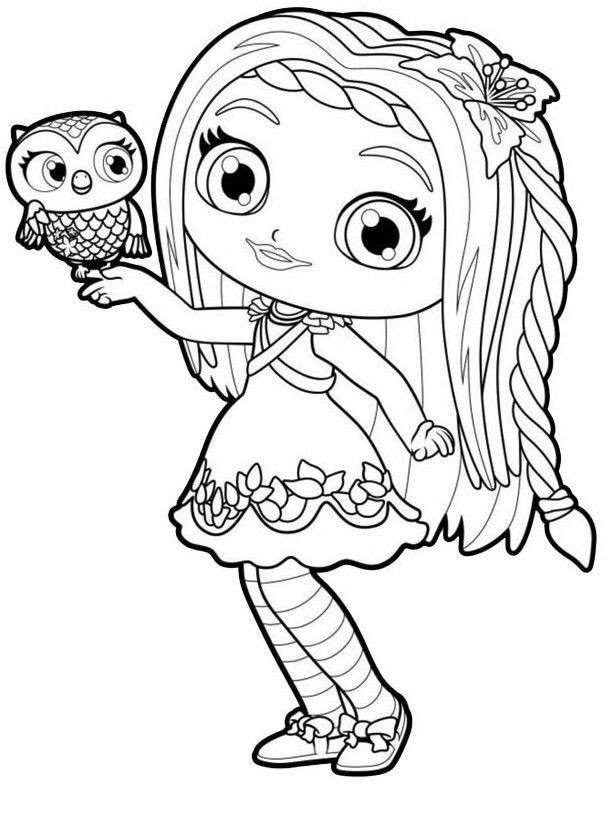 coloring little charmers little charmers coloring pages for kids little coloring charmers