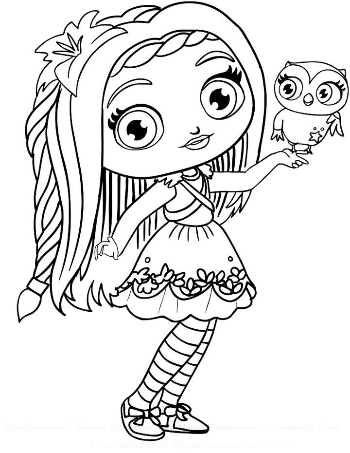 coloring little charmers little charmers coloring pages getcoloringpagescom coloring charmers little