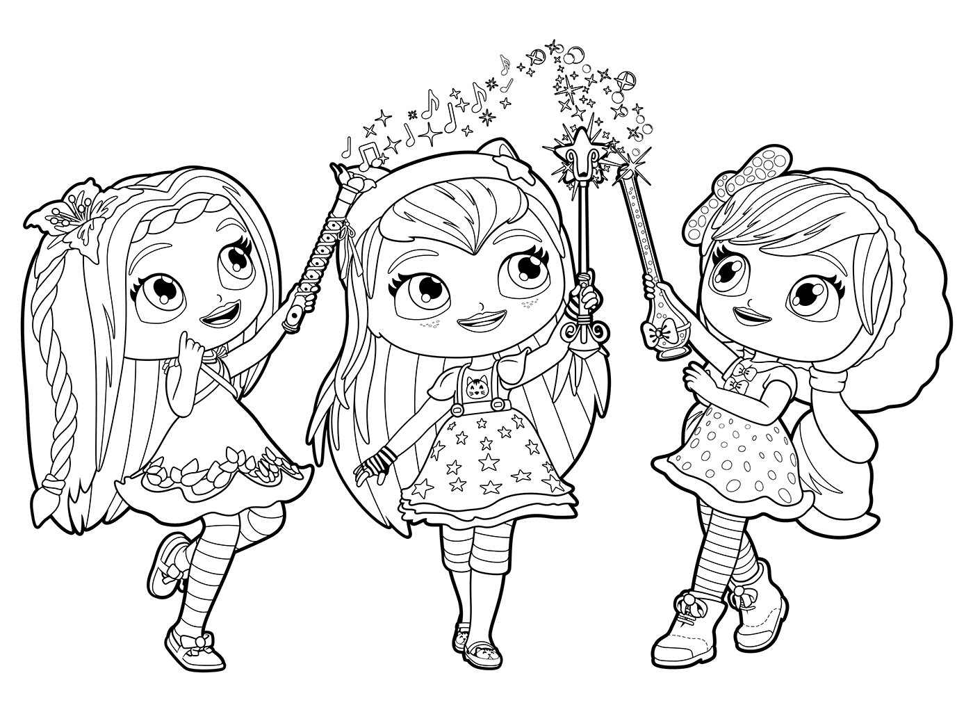 coloring little charmers little charmers coloring pages getcoloringpagescom little coloring charmers
